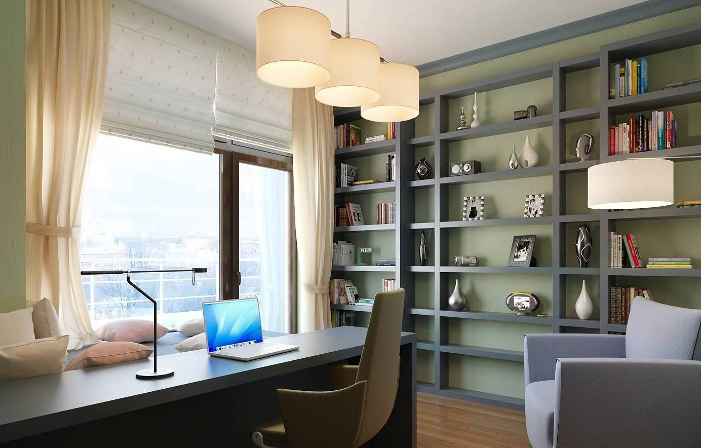 đèn trang trí phòng đọc sách